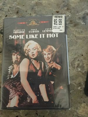 DVD: Some Like It Hot - Brand new! for Sale in Normandy Park, WA