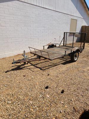 Utility trailer with tilt for Sale in Mesa, AZ