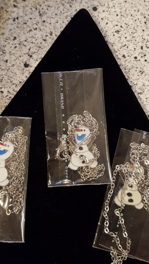 Frozen Olaf kids necklaces for Sale in Taylor, MI