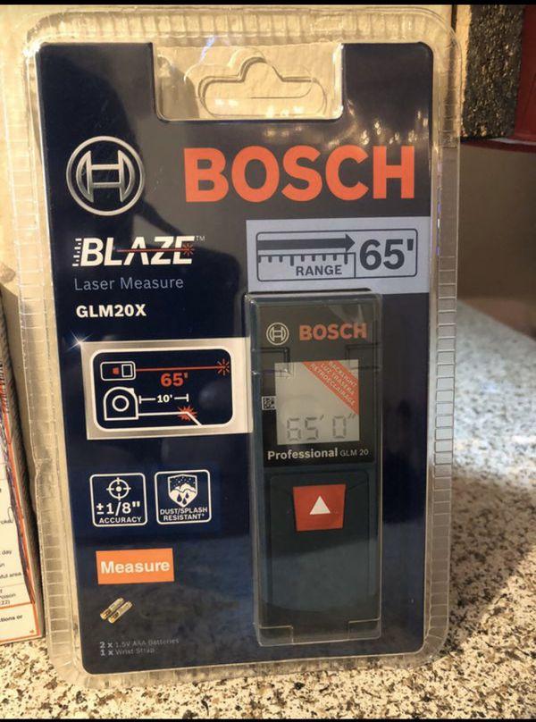 BOSCH Blaze Laser Measure tools
