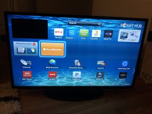 Sumsung smart led tv 46 inch for Sale in Arlington Heights, IL