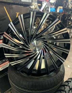 "22"" Venice Rims with Tires for Sale in Dallas, TX"