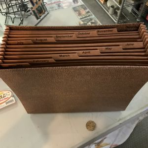 Expandable Monthly File Folder for Sale in Evansville, IN