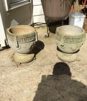 Concrete Planters (2) for Sale in Roswell, GA