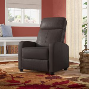 Sykora faux leather manual recliner with massage. NEW IN BOX. for Sale in Long Beach, CA