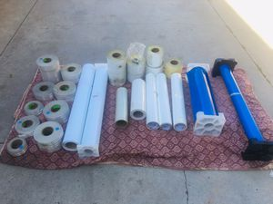 "individual prices below 3M Engineer Grade Reflective Sheeting 3275 Blue, 48 In X 50 Yd $50 EACH 30"" X 10Y GERBER 220 3M 7125 114 CLEAR ENAMEL REC for Sale in Torrance, CA"