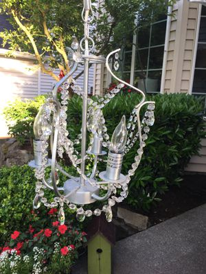 IKEA Kristaller Chandelier Excellent Condition for Sale in Portland, OR