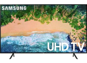 "4 months old >> Samsung 58"" Class LED 6 Series 2160 p - Smart 4K UHD TV and HDR + Standard Remote + Stand + Owner Manual for Sale in Glendale, CA"