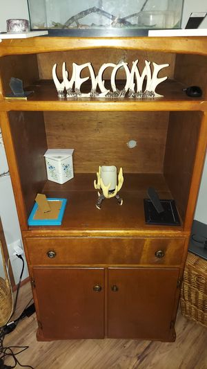 Wooden cabinet for Sale in Madison Heights, VA
