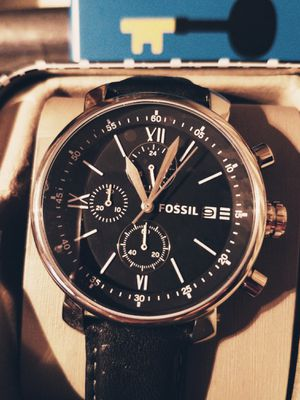 New Mens Fossil watch for Sale in Minocqua, WI