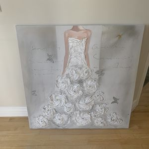 Stunning Bride Art Work... Excellent Condition... for Sale in Layton, UT