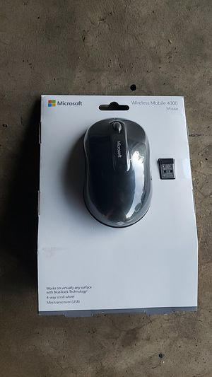 Microsoft wireless mobile 4000 mouse for Sale in Fullerton, CA
