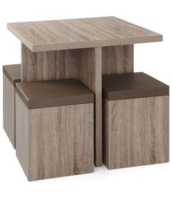 Main Stays Dining Set Kitchen Table With Storage In Seats for Sale in Corona,  CA