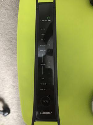 CenturyLink C300Z Modem/Dual Band Router for Sale in Las Vegas, NV