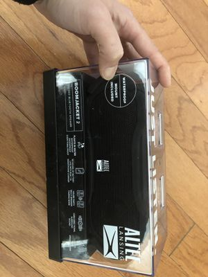 Altec lansing boomjacket 2 bluetooth speaker for Sale in Alexandria, VA