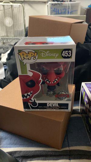 Devil funko pop for Sale in Eatonville, WA