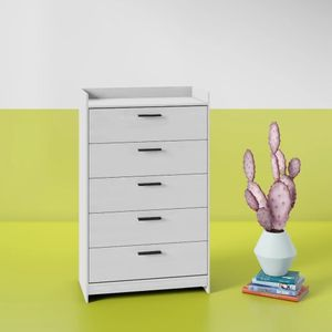 Brand New 5 Drawer Chest White for Sale in Rockville, MD