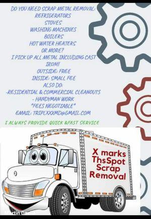 Free scrap pick up for Sale in Newark, NJ