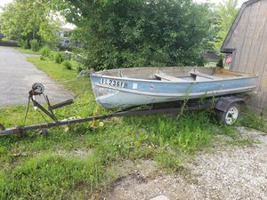 Boat and trailer for Sale in Third Lake, IL