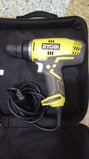 Ryobi 5.5-Amp 3/8 in. Variable Speed Reversible Compact Clutch Driver for Sale in Boston, MA