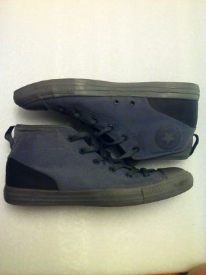 Converse All Star Chuck Taylor Shoes Gray men's size 12 women's size 14 nice Gray and black for Sale in Hawthorne, CA