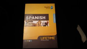 Brand New never Activated Factory Sealed Rosetta Stone Spanish for Sale in Sacramento, CA