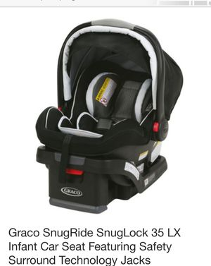 Graco SnugRide SnugLock 35 LX Infant Car Seat for Sale in Springfield, OR