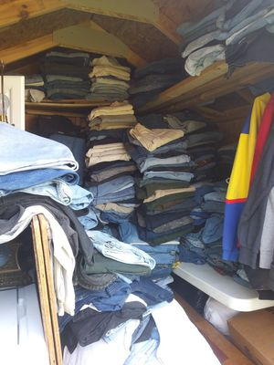 Mens jeans and jean shorts for Sale in Mount Oliver, PA