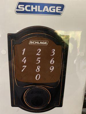 Schlage Camelot aged bronze sense smart door lock for Sale in Cleveland, TX