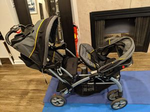 Double baby trend stroller for Sale in Raleigh, NC