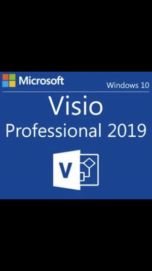Microsoft Visio Professional 2019 Genuine Product Key for Sale in Brooklyn, NY