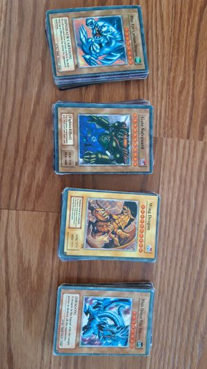 Yu-Gi-Oh Cards ~140 cards for Sale in Sterling, VA