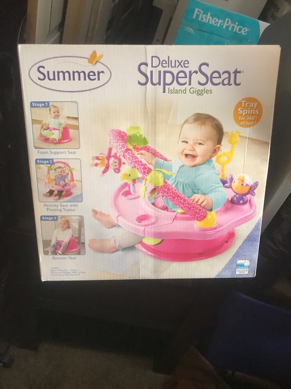 Summer booster seat