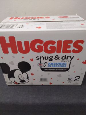 Huggies snug and dry size 2 for Sale in Goodyear, AZ