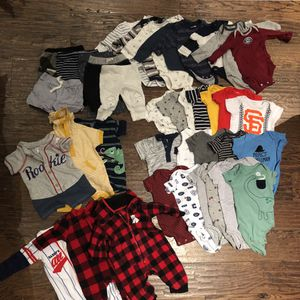Baby boy huge lot of clothes for Sale in San Carlos, CA
