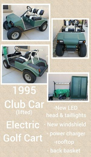 1995 Club Car Lifted Golf Cart for Sale in Peoria, AZ