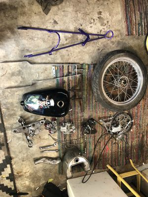 Harley ford chopper parts motorcycle truck hot rod for Sale in Austin, TX
