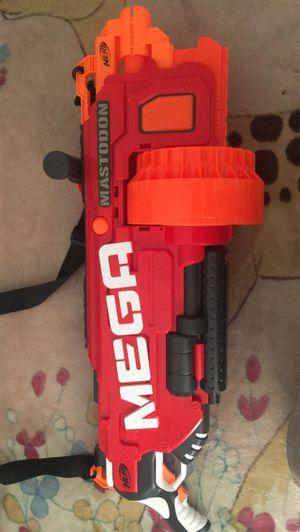 Nerf Gun: Mega Mastodon for Sale in Tustin, CA