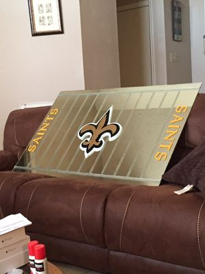 Custom Saints FB Field Mirror for Sale in Houston, TX