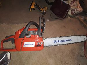 Husqvarna chainsaw for Sale in LAUREL PARK, WV