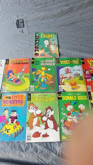 11 Vintage Disney/Warner Cartoon Comics for Sale in Stockton, CA