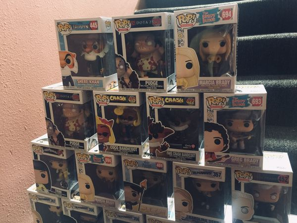 Funko Pop's Collection