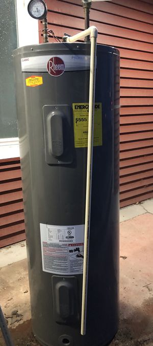 Rheem 50gal electric water heaters (240V) for Sale in Wexford, PA