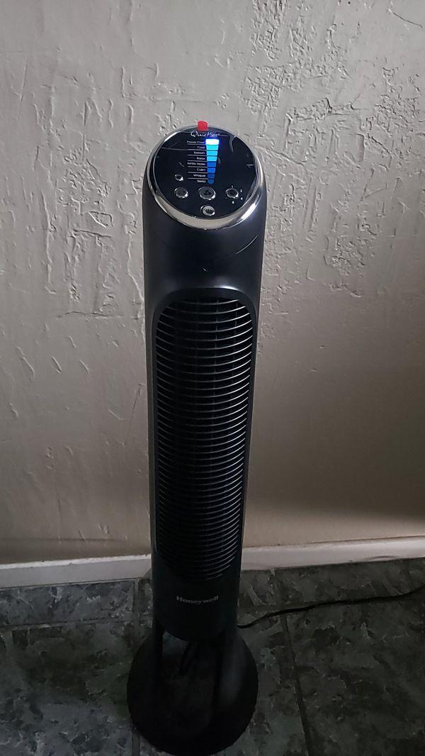 Honeywell 40 inch whole room tower fan quietset