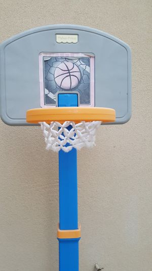 Upto 6 ft basketball pole and hoop set for Sale in Tracy, CA