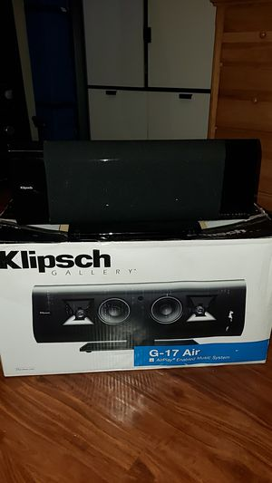 Klipsch G-17 Airplay for Sale in Palm Desert, CA