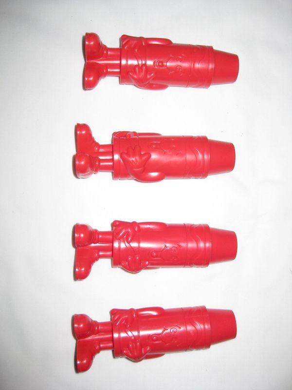Four Crayola Crayon Sharpeners