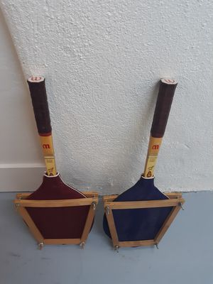 Vintage tennis rackets with guards for Sale in Scottsdale, AZ
