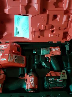 Milwaukee 1/2 In Drill/driver And Hammer Drill And Driver for Sale in Newark,  NJ