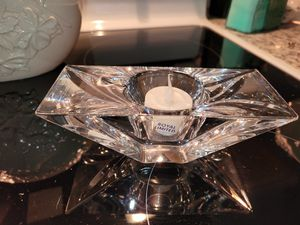 Crystal candle holders for Sale in Burlington, CT